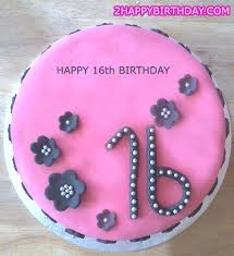 sweet 16 birthday cake with u0027s name 2happybirthday