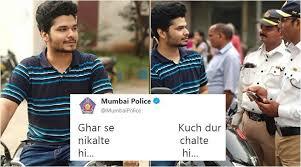 Hi Memes - mumbai police s twitter team joins the ghar se nikalte hi meme