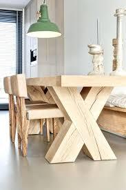 table cuisine bois massif table cuisine bois brut table cuisine industrielle table de cuisine
