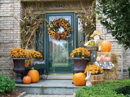 exciting fall patio exterior decoration home decorating ideas