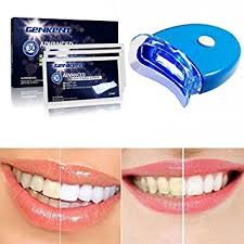 how to use teeth whitening kit with light genkent teeth whitening kit advanced teeth whitening strips and