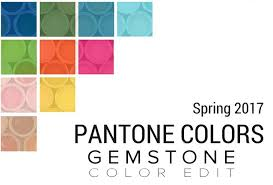 pantone colors for spring 2017 pantones influence jewelry color trends for spring 2017 marissa