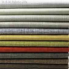 tissu canapé au mètre 148 cm 5 mètres 22 couleurs texturé solide coton tissu pour