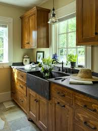 kitchen kitchen color schemes with oak cabinets how to paint