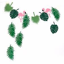 Flamingo Home Decor Aliexpress Com Buy Flamingos Non Wove Fabrics Party Decoration