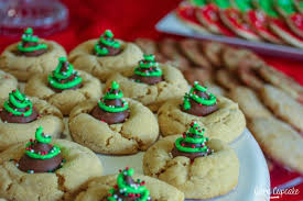 peanut christmas tree 12 days of cookies day 2 christmas tree peanut butter blossoms