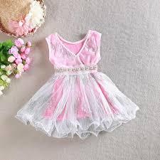wholesale latest design girls dress v neck baby sequins