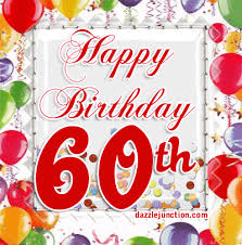 60 years birthday card 60 happy gifs search create discover and awesome gifs on