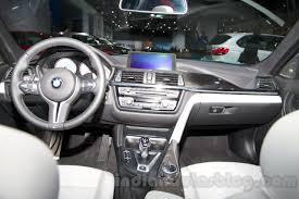 Bmw M4 Interior Bmw M3 Sedan At The 2014 Moscow Motor Show Interior Indian Autos
