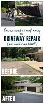 Flo Coat Concrete Resurfacer by Best 25 Driveway Repair Ideas On Pinterest Concrete Driveway