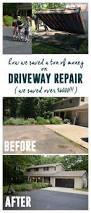 Flo Coat Resurfacer by Best 25 Driveway Repair Ideas On Pinterest Concrete Driveway