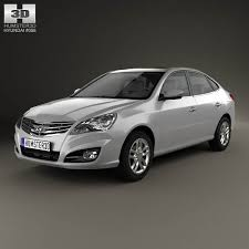 hyundai elantra 2011 model hyundai elantra yue dong 2011 3d model hum3d