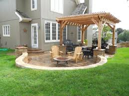 Rear Patio Designs Garden Patio Design And Ideas Rear Patio Designs Garden