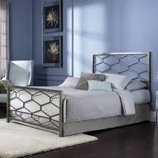 metal bed frame with headboard wrought iron bed frame headboard