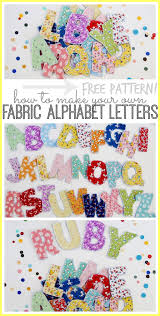 fabric alphabet letters alphabet letters alphabet and bee crafts