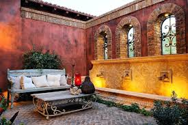 Mediterranean Patio Design Mediterranean Patio Decor Patio Style Mediterranean Style Patio