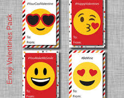 kids valentines day cards printable kid s s day cards emoji