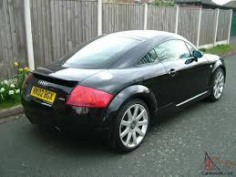 audi tt 1 8 turbo quattro coupe full service history black