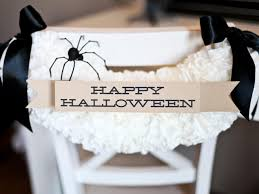 Halloween Wedding Favors Halloween Chair Decoration How Tos Diy
