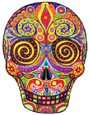 sugar skull tattoos high quality photos and flash designs of