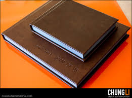leather bound photo albums san francisco wedding photographer chung li photography 2009 12