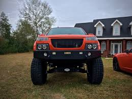 orange jeep lifted lifted inferno orange gmc canyon chevy colorado on 35s 35x12