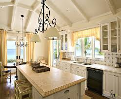 Tuscan Style Kitchen Curtains Tropical Kitchen Curtains Best Premier Home Decor Ikat Fret