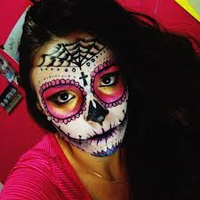 Mexican Halloween Costumes 65 Sugar Skull Makeup Images Costumes Sugar