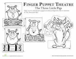 pigs finger puppets pigs pigs
