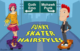 hairstyles for skate boarders funky skater haircuts for guys and girls to sport in style