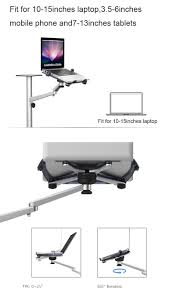 Recliner Laptop Desk by Adjustable Office Table Using Flexible Recliner Multi Laptop Stand