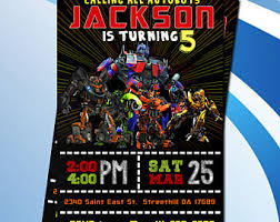 transformer birthday transformer birthday invitation transformer birthday party