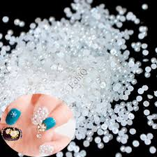 aliexpress com buy mix size ab pearls nail art decoration holo