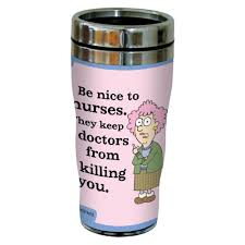 Travel Mug Aunty Acid Nurse Travel Mug U2014 Aunty Acid Nurse Travel Mugonly A Nurse