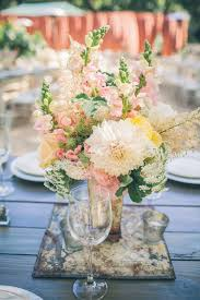 Shabby Chic Wedding Centerpieces by Best 25 Mint Wedding Centerpieces Ideas Only On Pinterest