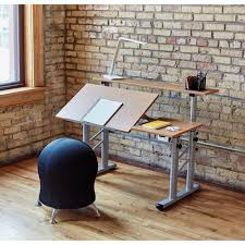 Split Level Style by Safco Height Adjustable Split Level Drafting Table Mac Papers Inc