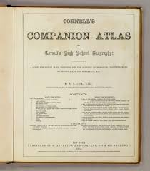 A Map The United States by Title Page Cornell U0027s Companion Atlas David Rumsey Historical