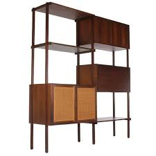 Mid Century Modern Bookcase Mid Century Modern Danish Style Wall Unit Or Book Shelf In Walnut