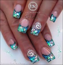 shell nail gems images