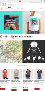 18 finest ecommerce templates and themes for online t shirts