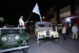 land rover malaysia jaguar land rover malaysia organises a drive to commemorate a land