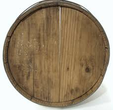 antique country store oak wood slat banded 10 gal water whiskey