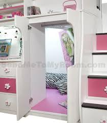 Loft Bunk Bed With Stairs Loft Bed With Desk And Stairs Berg Furniture Play Study