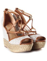 michael kors women u0027s terri wedge sandals