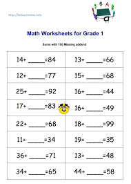 missing addend addition worksheets 2nd grade kids activities