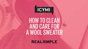 How To Wash Bright Colors - how to clean and care for wool real simple