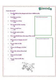 english worksheets l blends