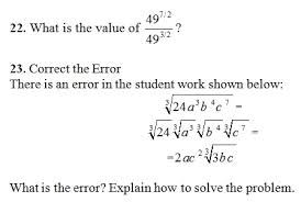 exponents worksheets pdf rational exponents worksheet pdf and answer key 24 questions