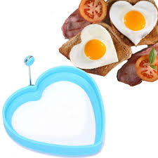 cooking gifts for mom for mom heart egg rings silicone fried pancake egg mold cooking