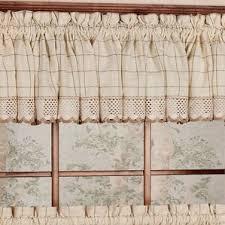 Window Treatments In Kitchen - check u0026 plaid valances u0026 kitchen curtains you u0027ll love wayfair